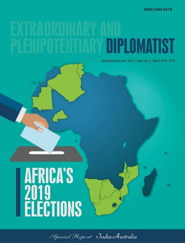 Diplomatist Magazine Diplomatist March 2019