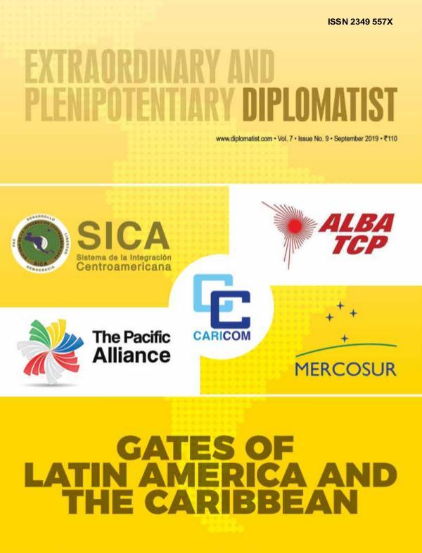 Diplomatist Magazine Diplomatist September 2019
