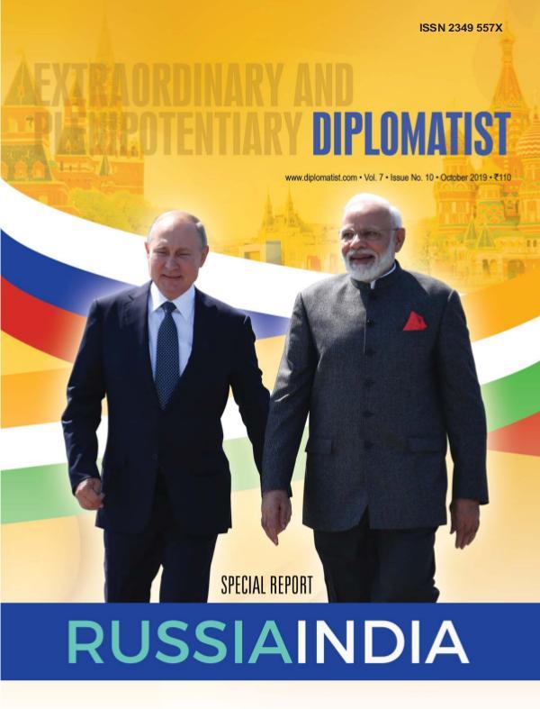 Diplomatist Magazine Diplomatist October 2019
