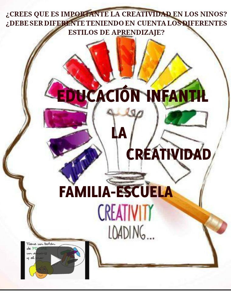 ¿Crees qué es importante la creatividad en los niños? 1