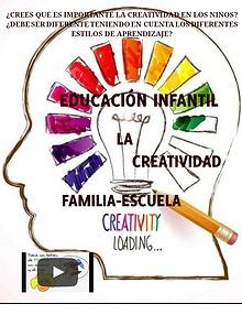 ¿Crees qué es importante la creatividad en los niños?