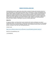 Global Market Intelligence Study-Ingenious Ebrain