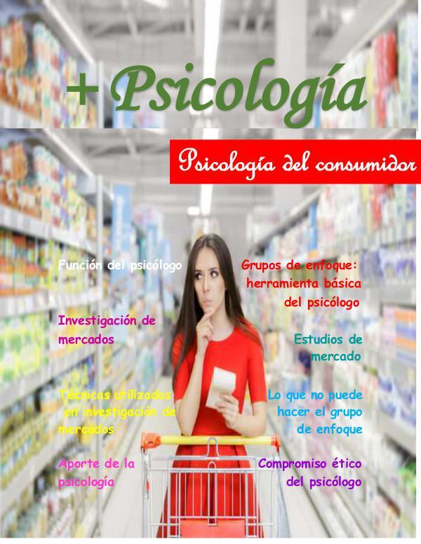 Psicología del consumidor Psicología REVISTA