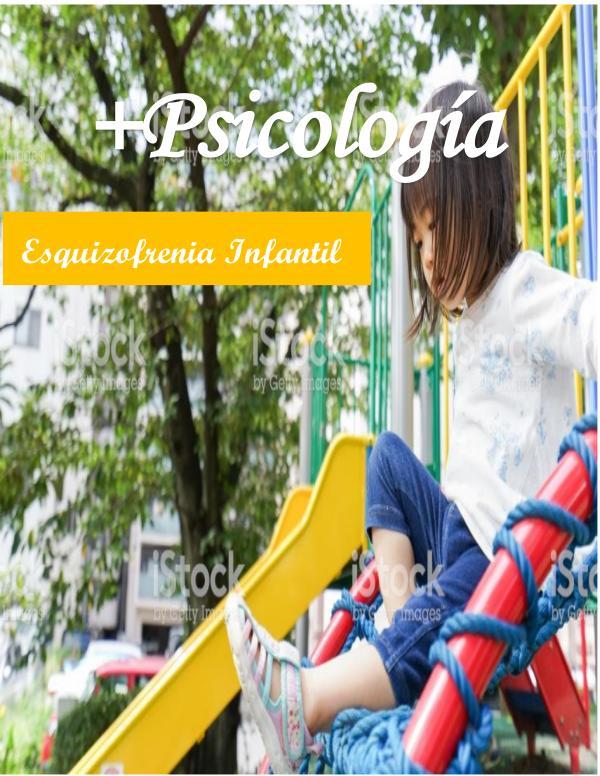 Esquizofrenia infantil revista
