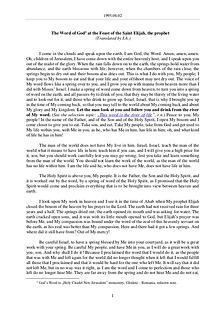 The Word of God in Romania t. Elijah, the prophet