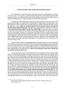 The Word of God in Romania  twelve holy apostles