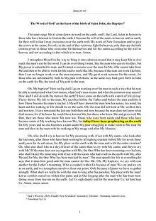 The Word of God in Romania irth of Saint John, the Baptizer