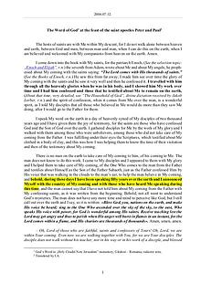 The Word of God in Romania aint apostles Peter and Paul