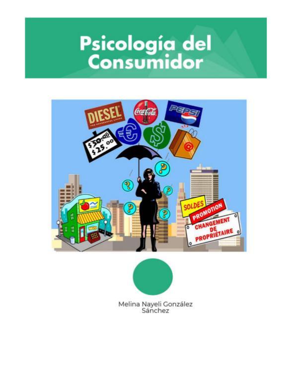 Psicología del Consumidor Psicología del Consumidor