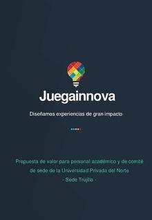Propuesta - Juegainnova - Trujillo