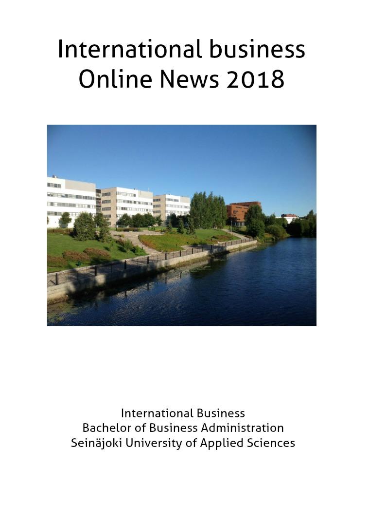 IB online news, 1/2018 1/2018