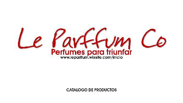 CATALOGO LE PARFFUM CO CATALOGO DE PRODUCTOS PERFUMES MAYO 2018