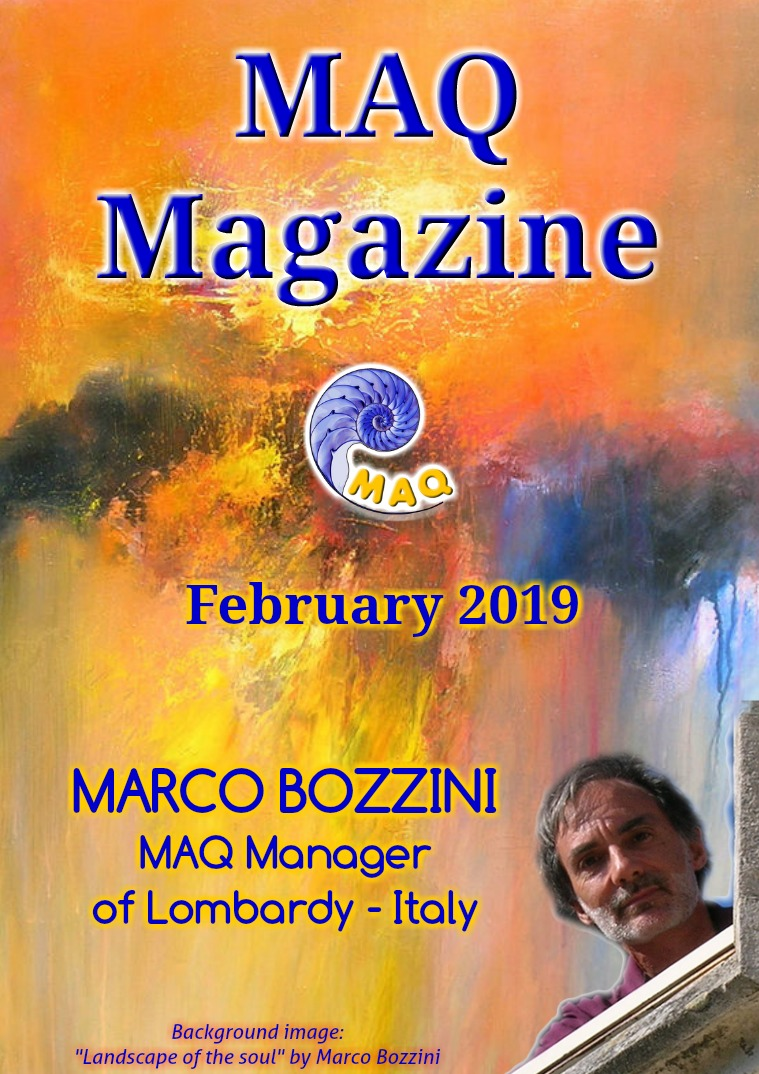 The magazine MAQ February 2019 February 2019