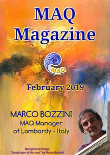 The magazine MAQ February 2019