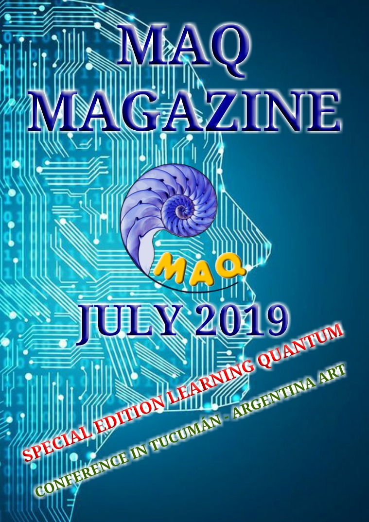 The magazine MAQ July 2019 LEARNING QUANTUM