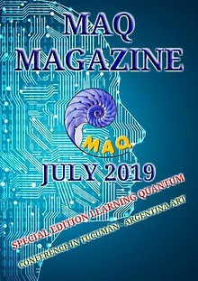 The magazine MAQ July 2019