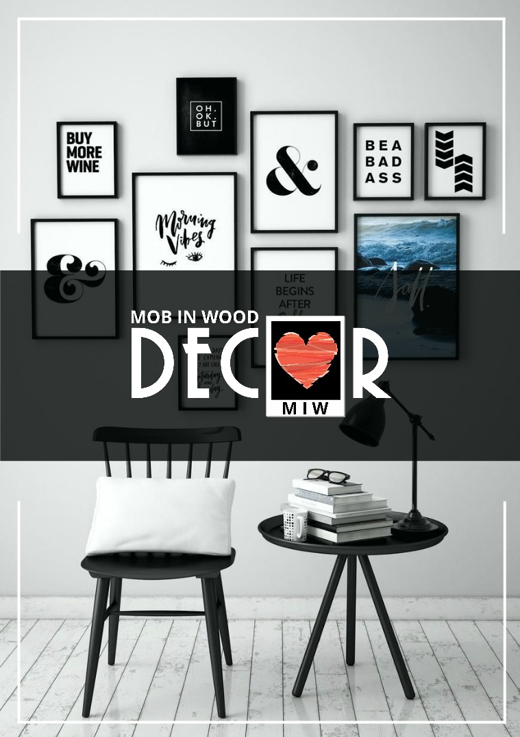Mob in Wood Decor 2018