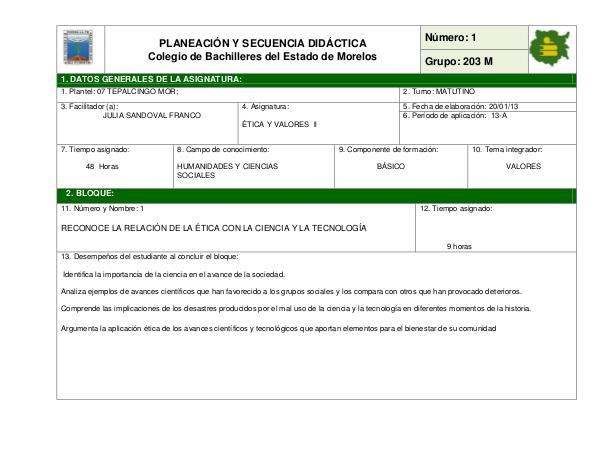 Tipos de material didactico 2e1f42_PLANEACIÓN Y SECUENCIA DIDÁCTICA 203M