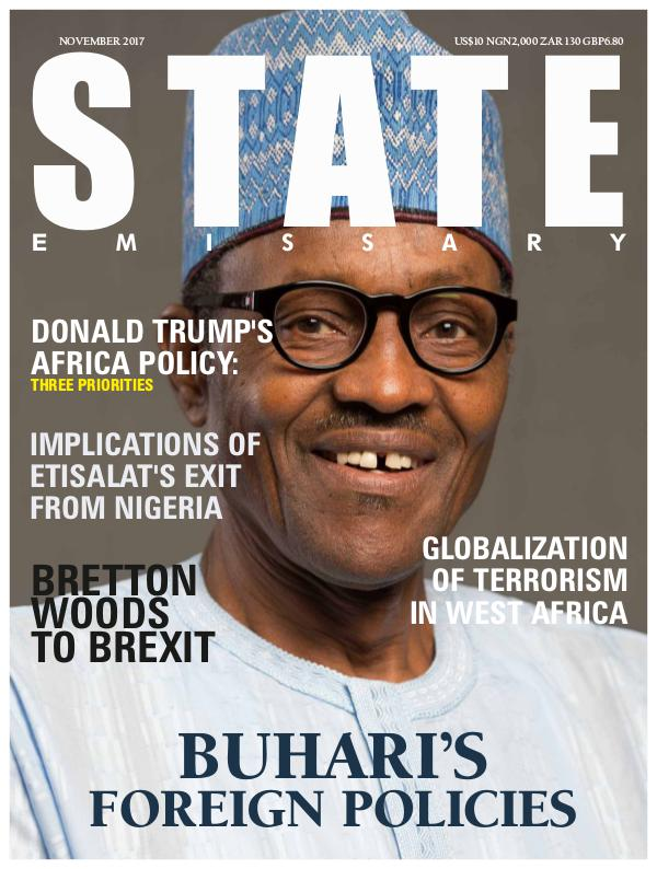 State Emissary, November 2017. Issue 1 2017 Edition
