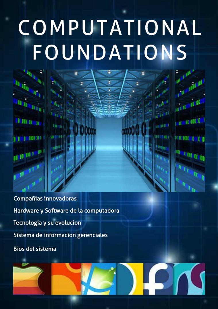 Computational Foundations Computational Foundations 1