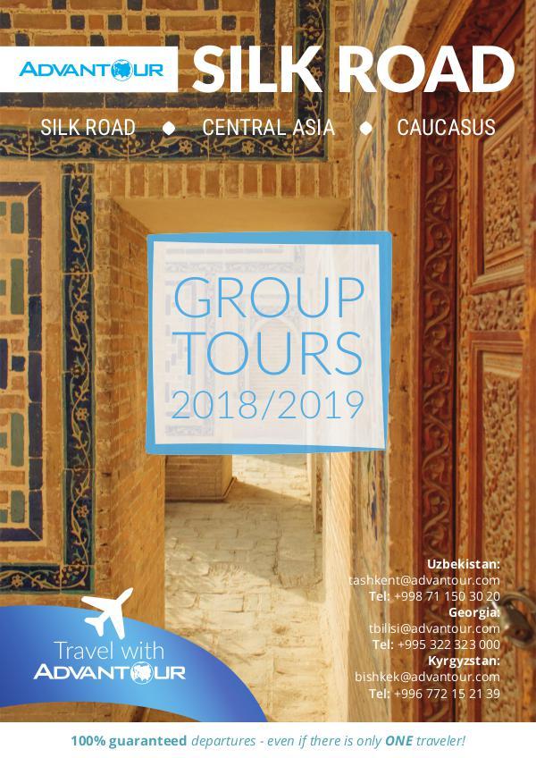 Advantour Silk Road Group Tours Brochure 2018/2019