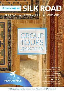 Advantour Silk Road Group Tours Brochure