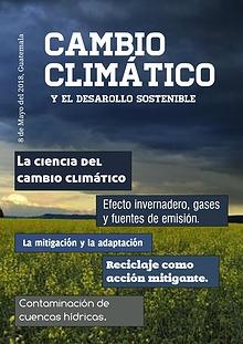 El cambio climático y sus efectos