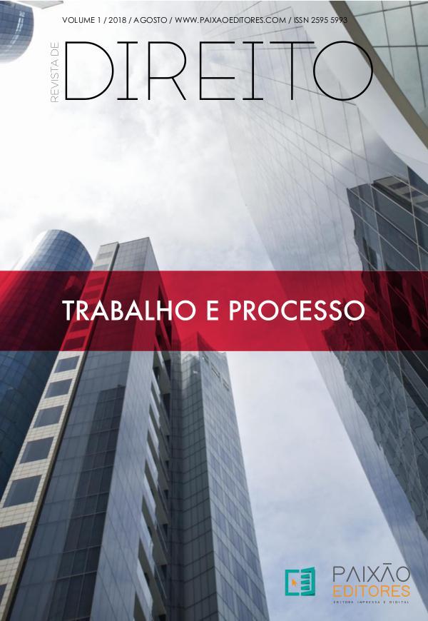 RD Trabalho e Processo acesso gratuito Vol. 1