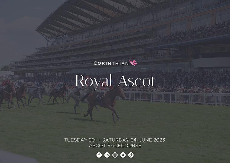 Horse Racing | Corporate Hospitality NB Royal Ascot | Corinthian Club (O5)