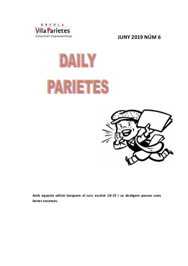 Revista DailyParietes núm6 Revista6_2019