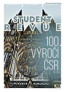 Student Revue 100 let čsr září-říjen