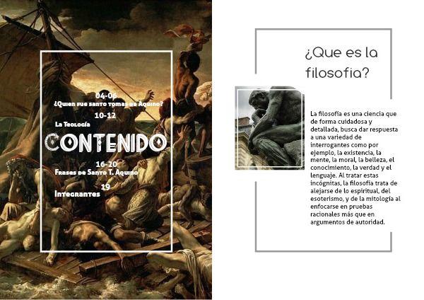 Revistas Santo Tomas De Aquino