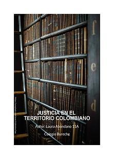 Justicia en el Territorio Colombiano