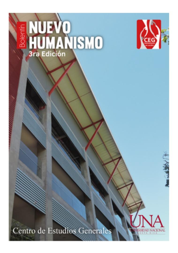 Boletín Nuevo Humanismo III Edición 2018 III Edición 2018