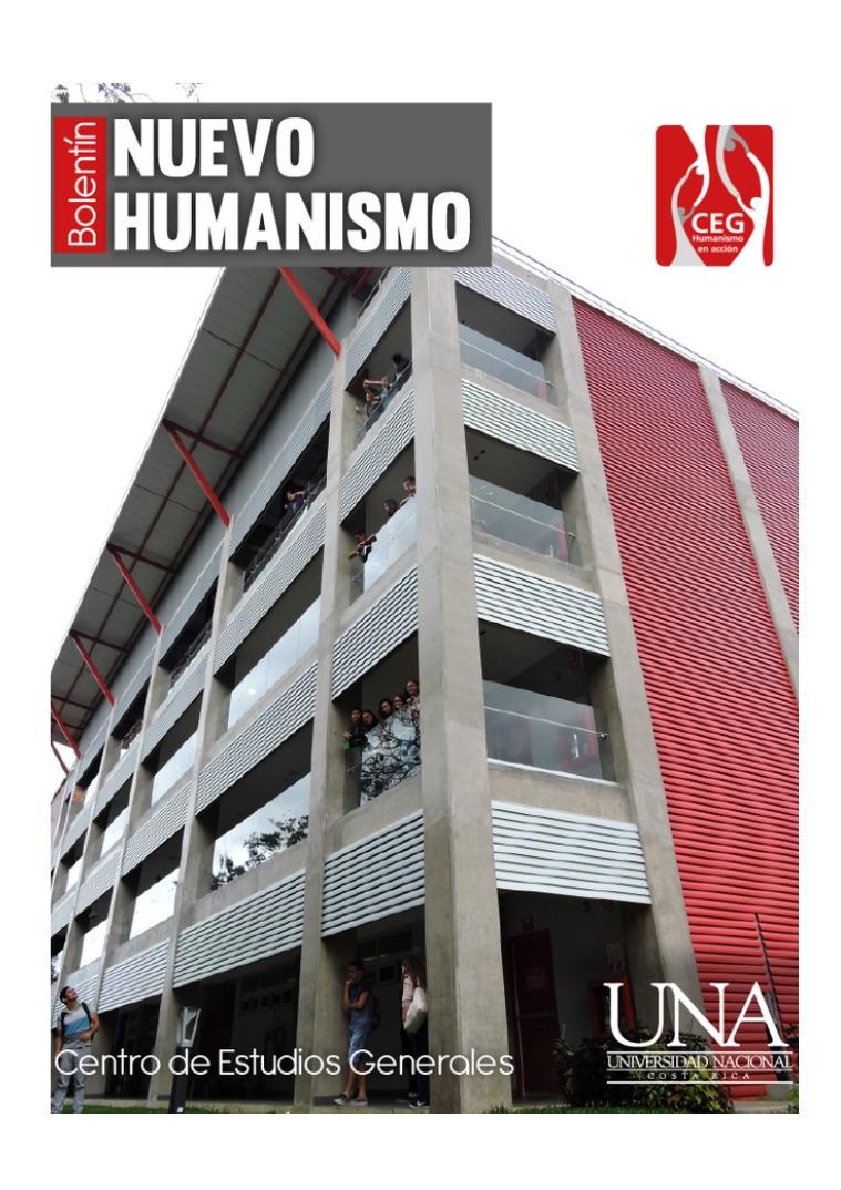 V Edición Boletín del Nuevo Humanismo V Edición Boletín Nuevo Humanismo