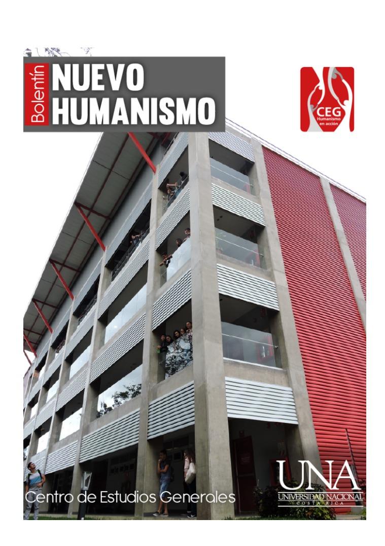 VI Edición Boletín del Nuevo Humanismo Vl Edición del Boletín Nuevo Humanismo del CEG
