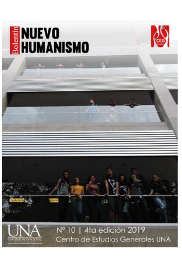 IV Edición No. 10 Boletín Nuevo Humanismo IV Edición No. 10 Boletín Nuevo Humanismo