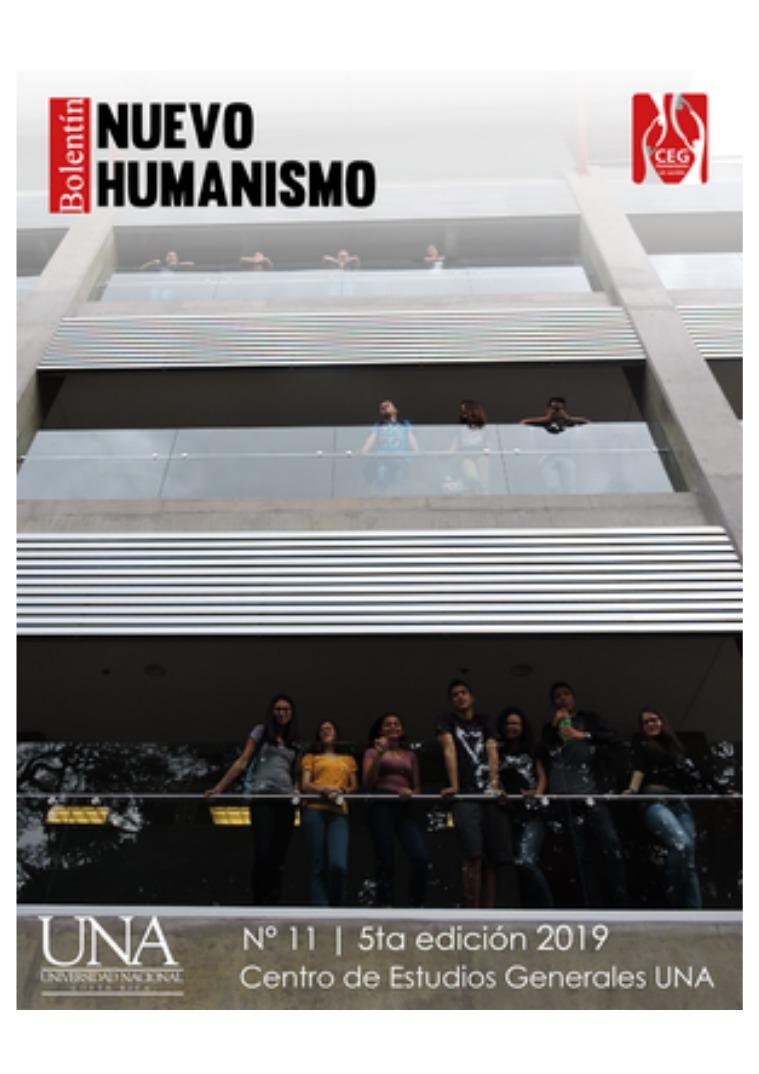 V Edición No. 11 Boletín del Nuevo Humanismo V Edición N 11 Boletín