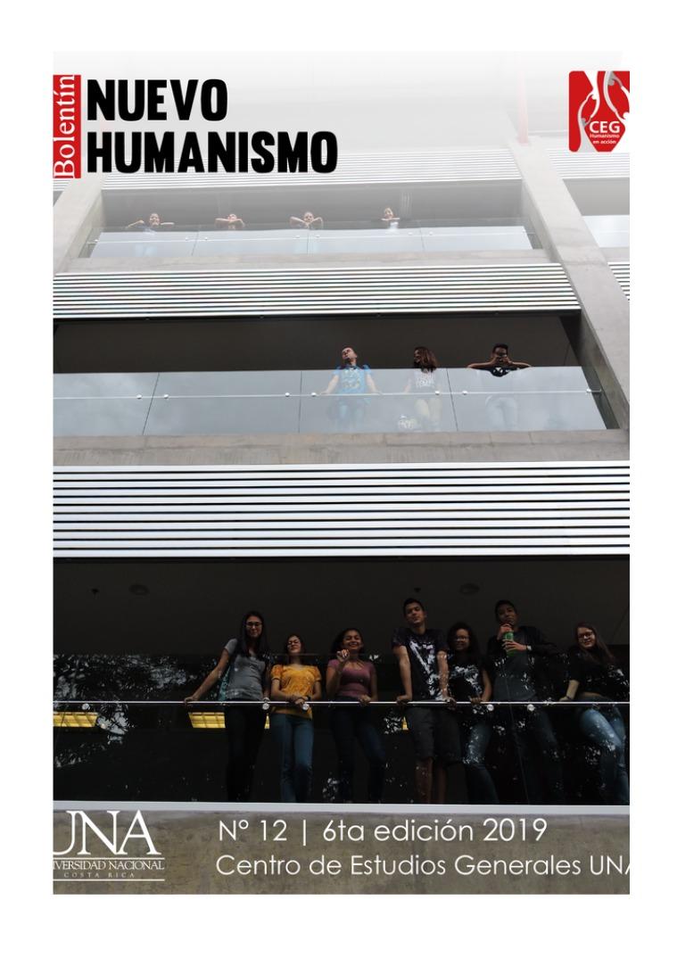 VI Edición No.12 Boletín del Nuevo Humanismo Actividades Setiembre 2019