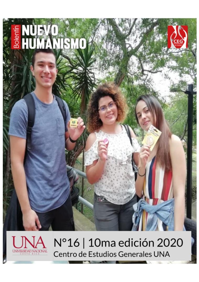 X Edición No.16 Boletín del Nuevo Humanismo