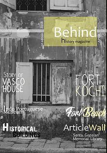 Behind history magazine