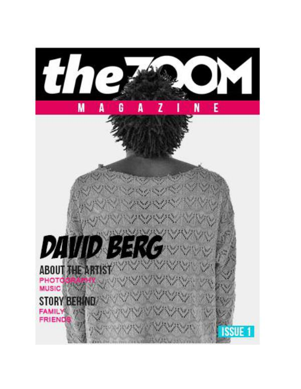 Issue One Issue1 - TheZoom Magazine