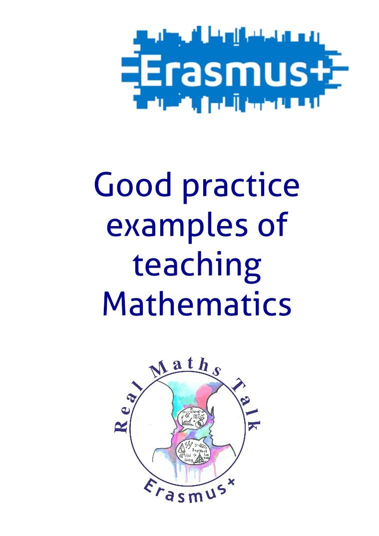 Real Math talk good practice examples of mathematics