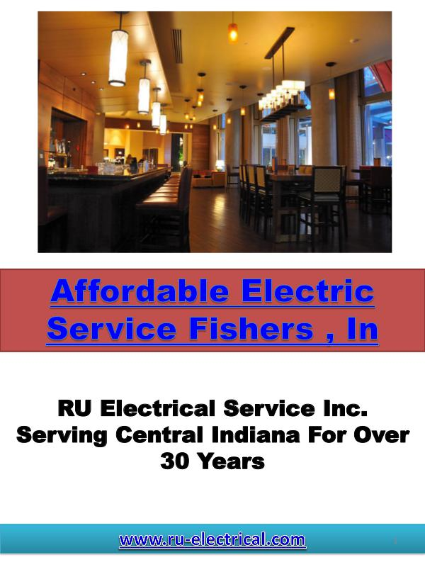 Affordable Electric Service Fishers , In Affordable Electric Service Fishers , In