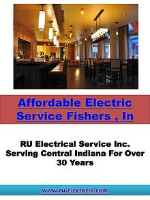 Affordable Electric Service Fishers , In