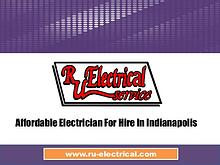Affordable Electrician For Hire In Indianapolis