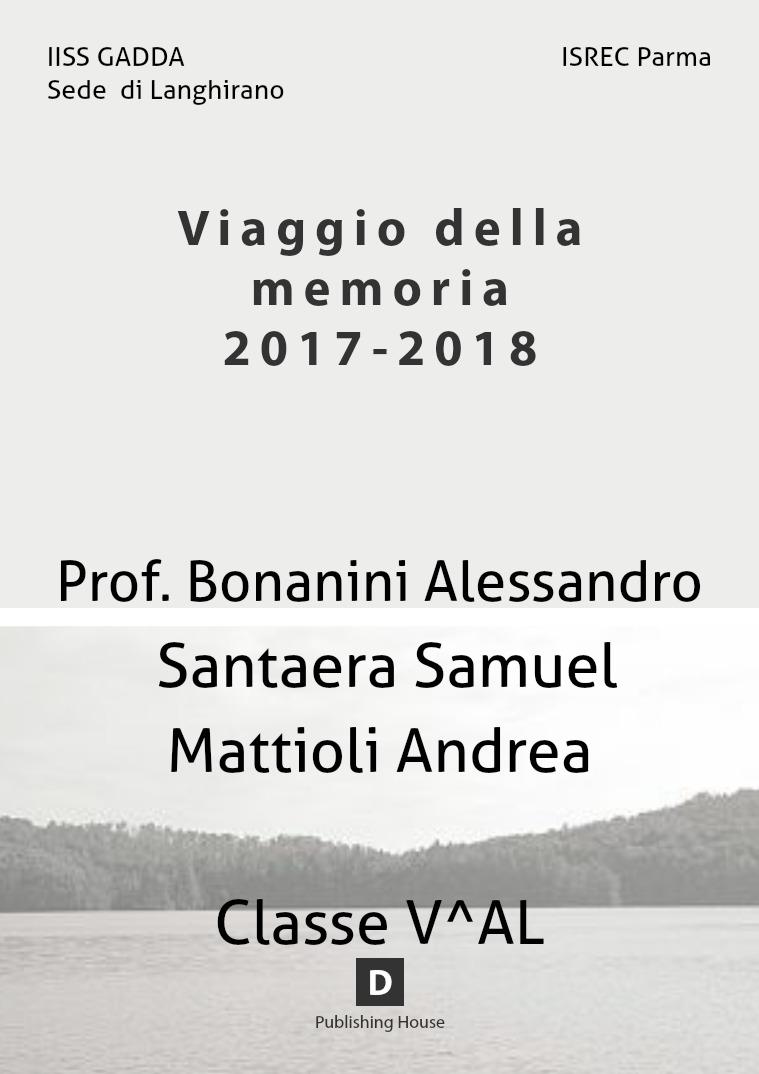 Viaggio della Memoria 2017-2018 2017-2018