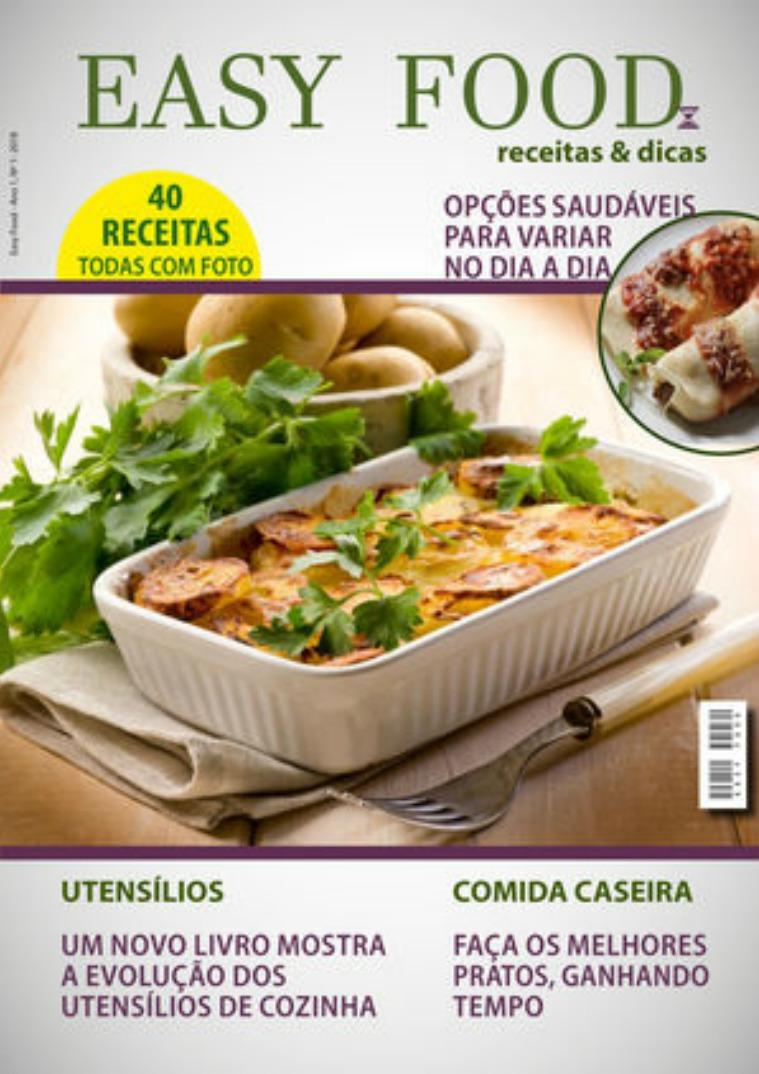 Minha primeira Revista Revista Easy Food_Projeto Final