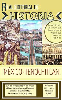 Historia .- MÉXICO TENOCHTITLAN