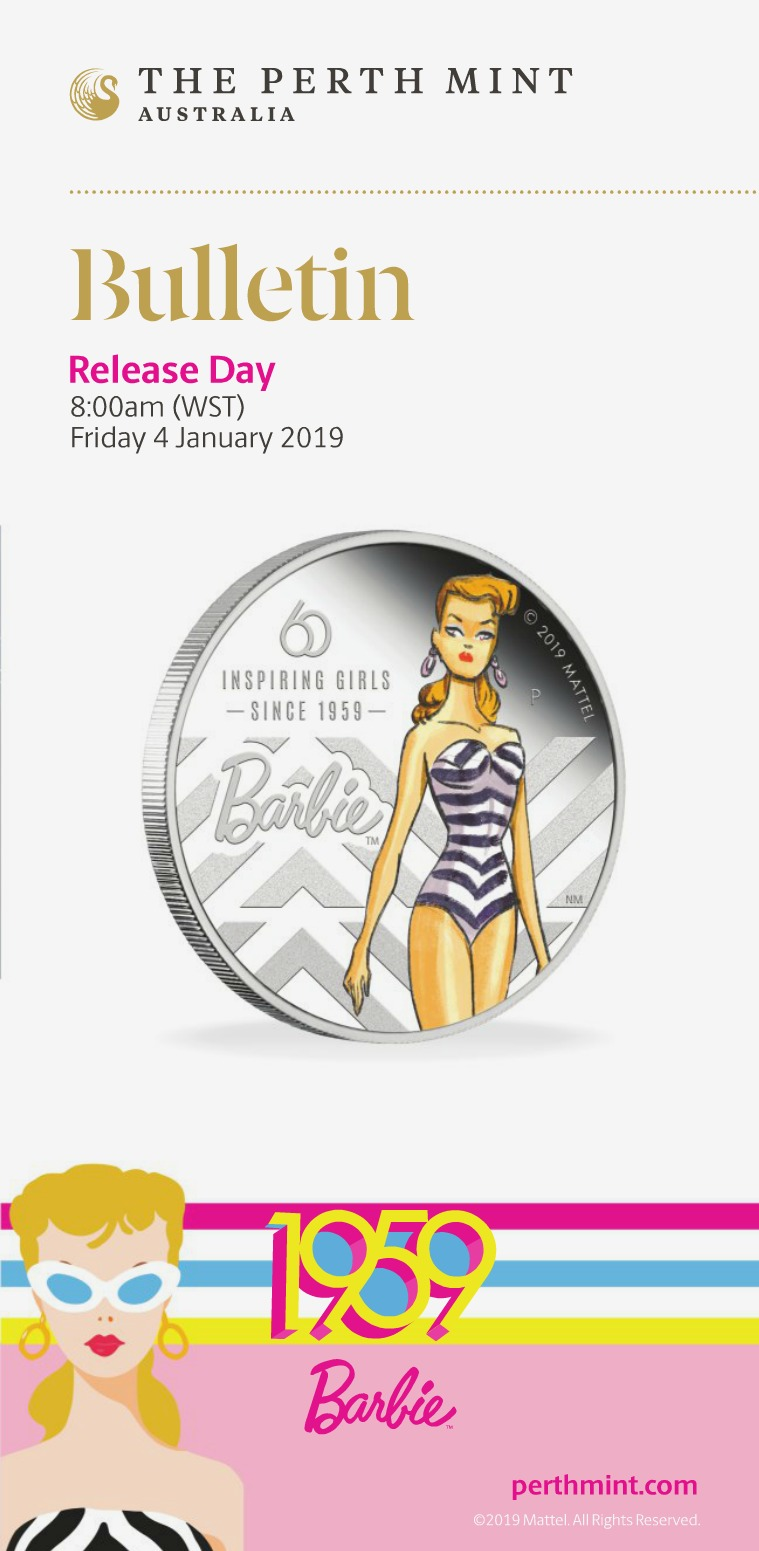 The Perth Mint 2019 January Coin Bulletin